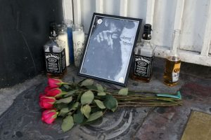 tributes-for-motrheads-lemmy-kilmister-are-laid-at-the-rainbow-bar-and-grill-in-los-angeles